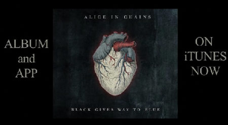 The Alice in Chains Black Gives Way to Blue App