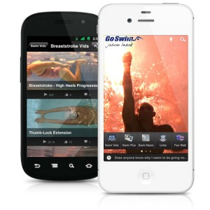 Former Olympians Build Swimming App