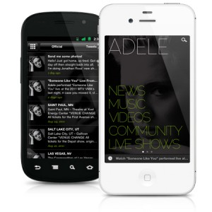 Adele's Official App is Now Available for Android!