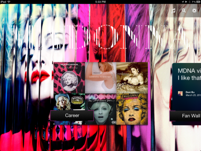 The Official Madonna iPad App is Now Live!