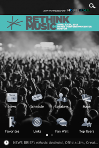 Rethink Music with the official Rethink Music app