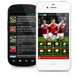 Denmark National Soccer Team launches their official app to connect with fans!