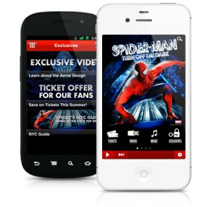 The Spider-Man Turn Off the Dark App Swings Past 500,000 Downloads!