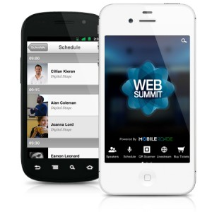 Mobile Roadie Powers Official Dublin Web Summit App