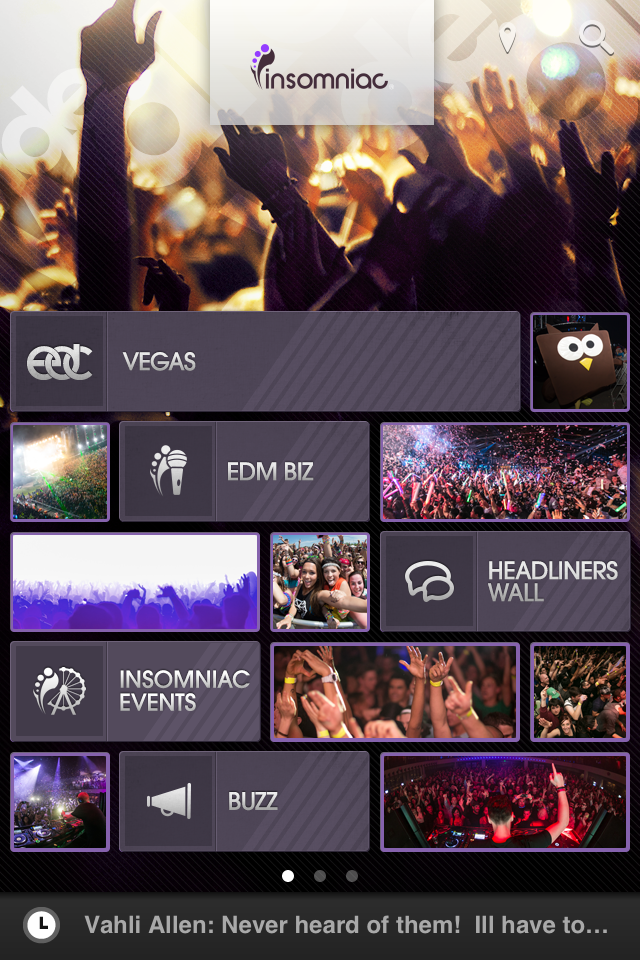 App of the Week: Insomniac Events