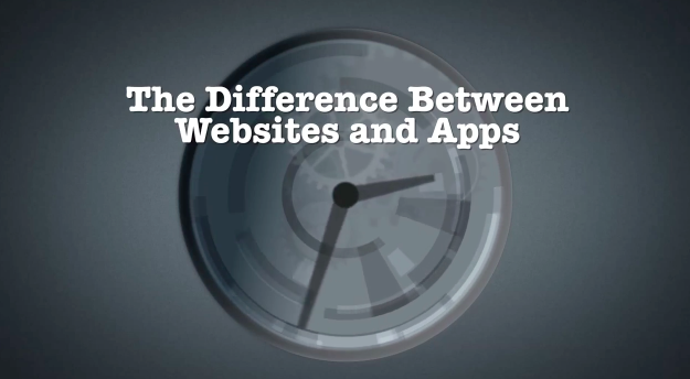 The Difference Between Websites and Mobile Apps