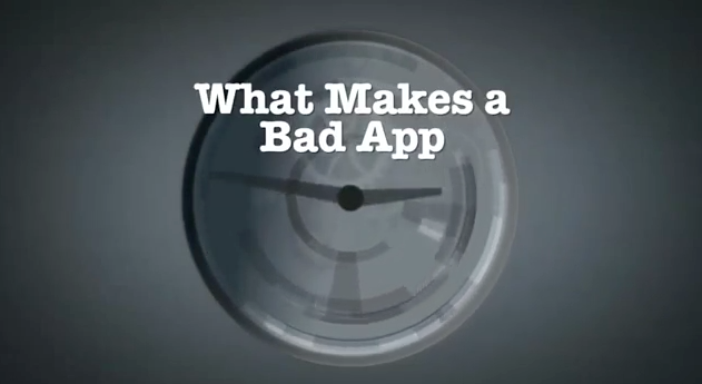 What Makes a Bad App