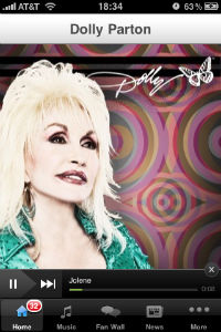 Dolly Parton iPhone