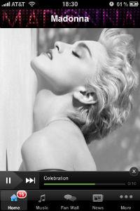 Madonna iPhone